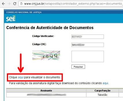 verificar documento